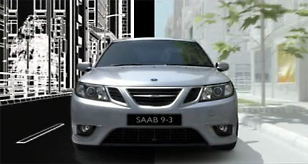 Saab 9-3 TV Commercial