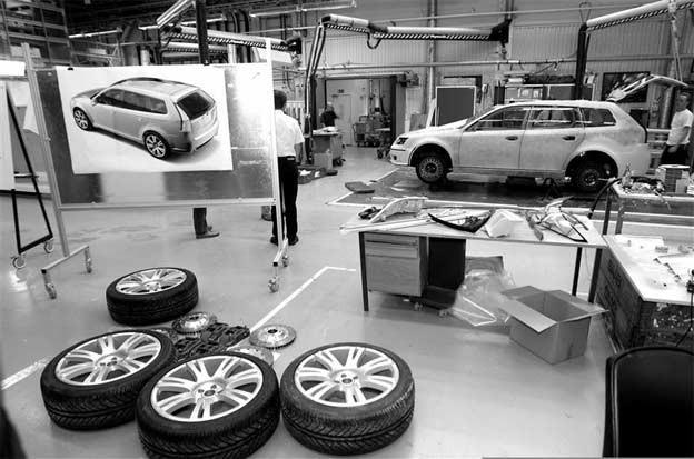 2004 Saab 9-3 Sport Hatch Concept