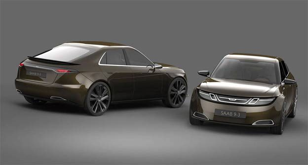 Saab 9-3 from the Future