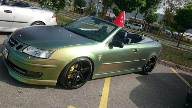 Superb Saab 9-3 Convertible from Turkey