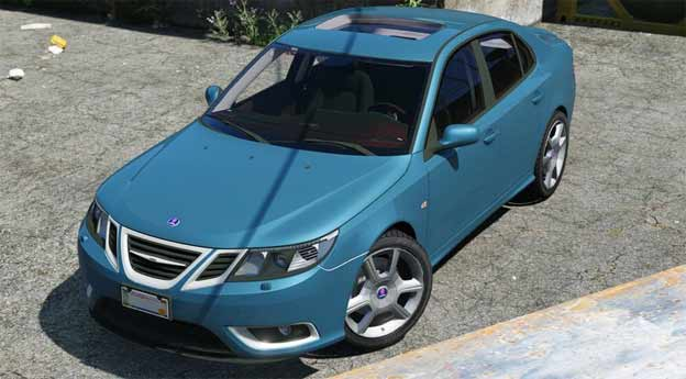 Saab 9-3 for GTA V