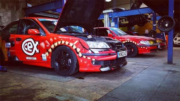 Saab 9-3 race cars