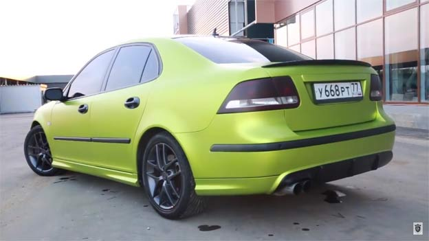 Saab 9-3 SS Restyled