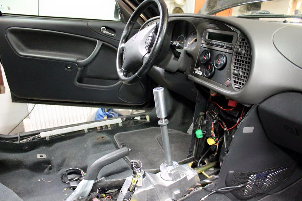 Saab 9-3 Short Shifter by EPIC Engineering