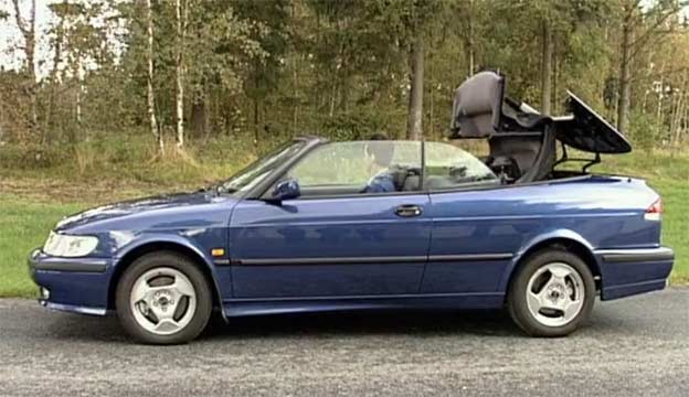 Saab 9-3 softtop roof