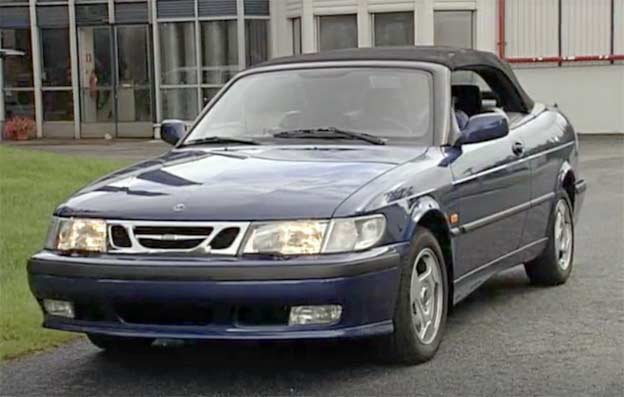 Saab 9-3 with Softtop