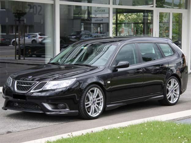 Saab 9-3 Sportcombi Hirsch Performance