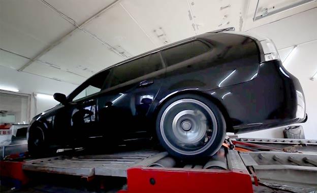 Tuned Saab 9-3 Turbo X
