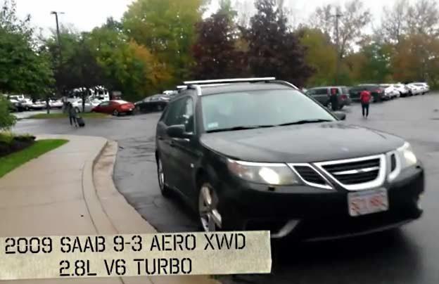 Saab 9-3 Aero XWD