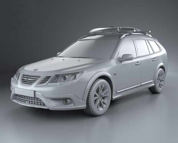 Custom 3D-printed parts for your SAAB