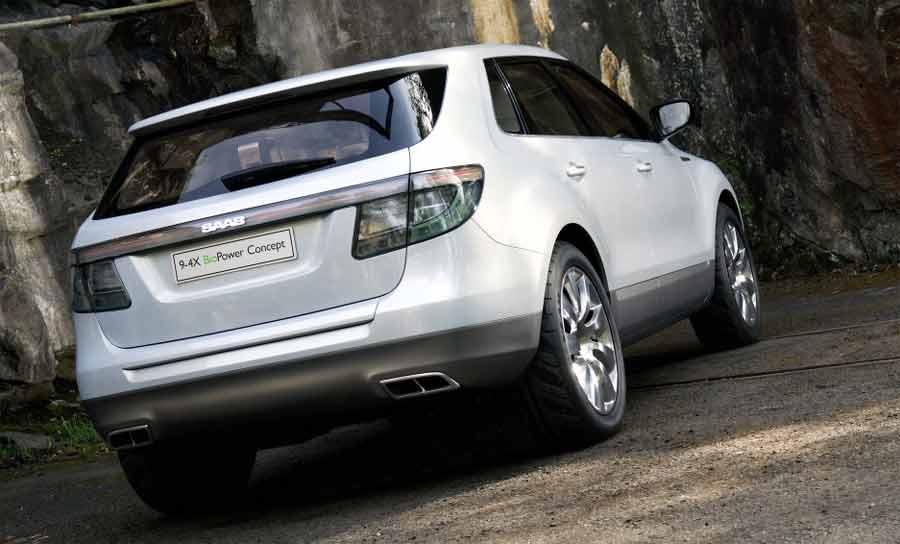 Saab 9-4X BioPower Concept '2008
