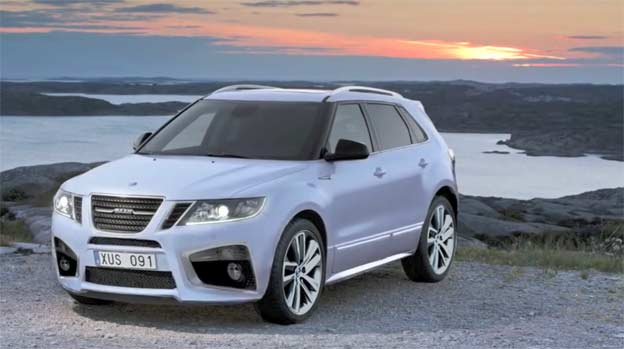 Saab 9-4x sport package