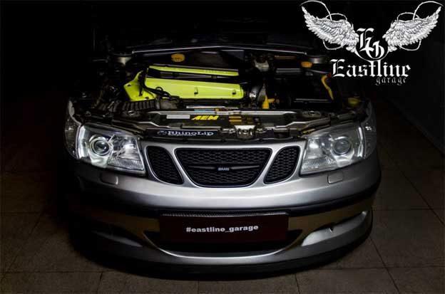Saab 9-5 2.3L engine