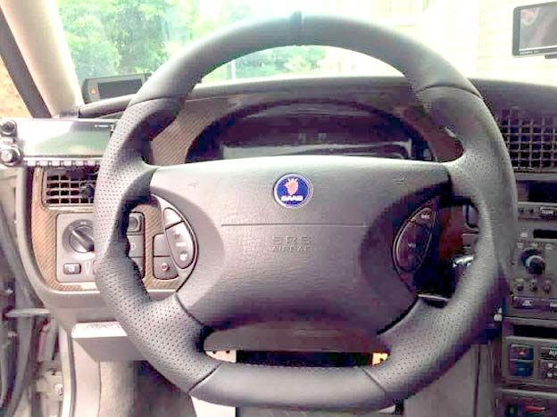 OJ Steering Wheel Saab 9-5