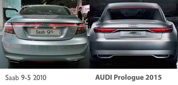 Saab 9 5 Ng Audi Prologue Concept