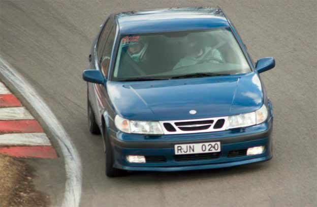 Martins Saab 9-5 before accident