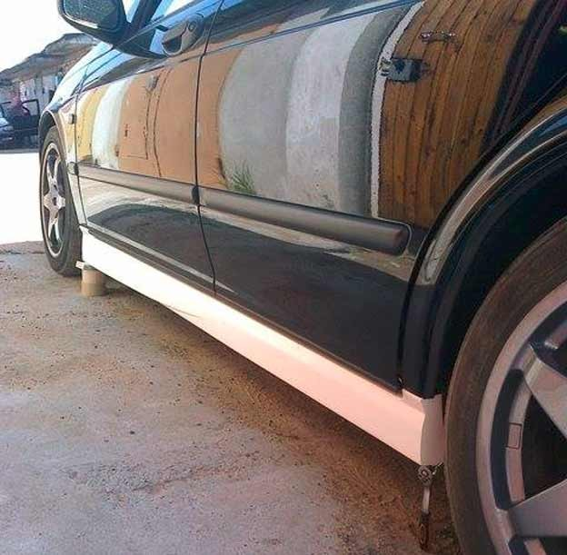 Saab 9-5 bodykit in development