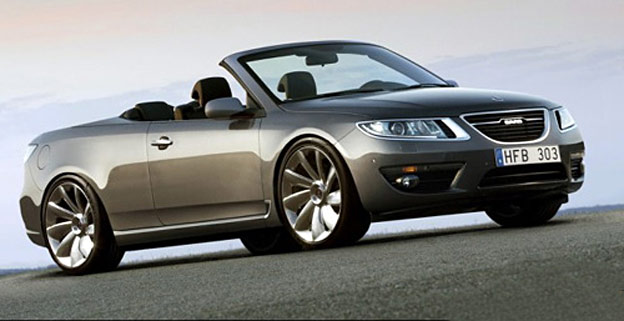 Nice concept: Saab 9-5 NG Convertible