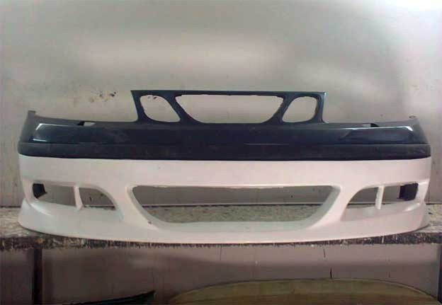 Saab 9-5 tuned front spoiler