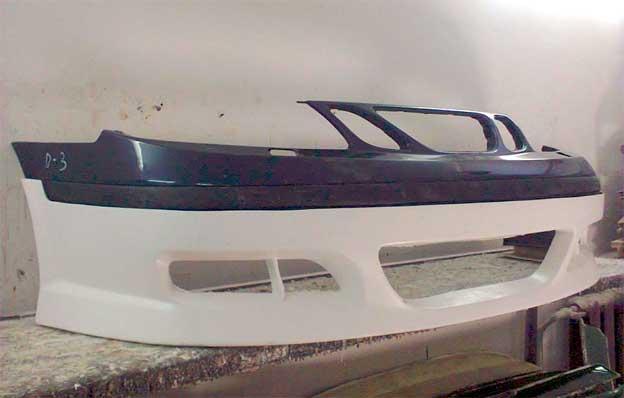 Saab 9-5 front spoiler