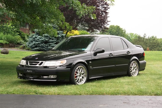 front performance lip for saab 9 5. Black Bedroom Furniture Sets. Home Design Ideas