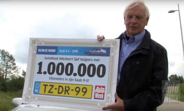 1 Million Kilometres With A Saab 9 5