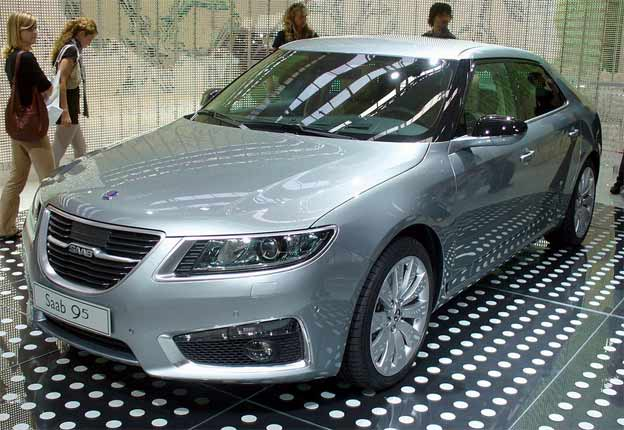 New Saab 9-5 by Thomas doerfer