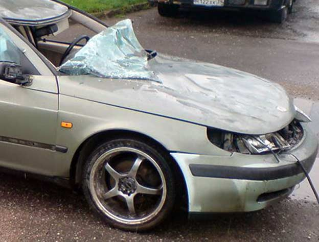 Saab 9-5 Once Again Confirms the Safety