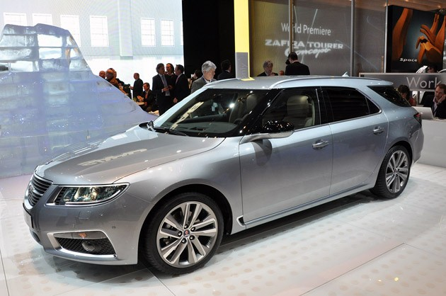 Saab 9-5 SportCombi premiere at the Geneva Motor Show