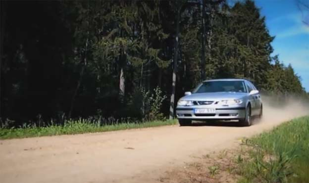 Personal project: SAAB 9-5 TV commercial