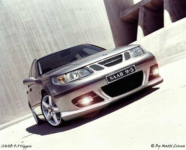 Saab 9-5 Viggen - the artistic vision by Matti Linna