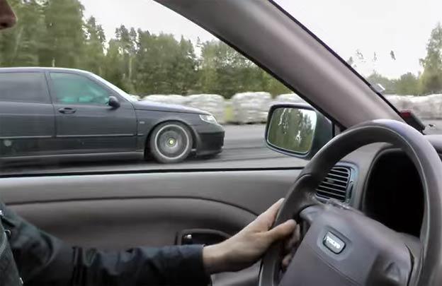 Saab 9-5 vs Volvo S40