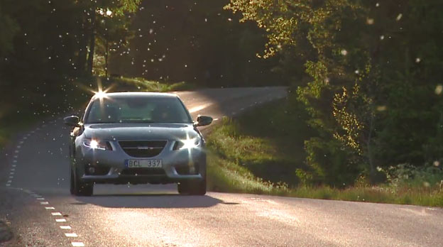 The Saab 9-5 - From Factory To Road
