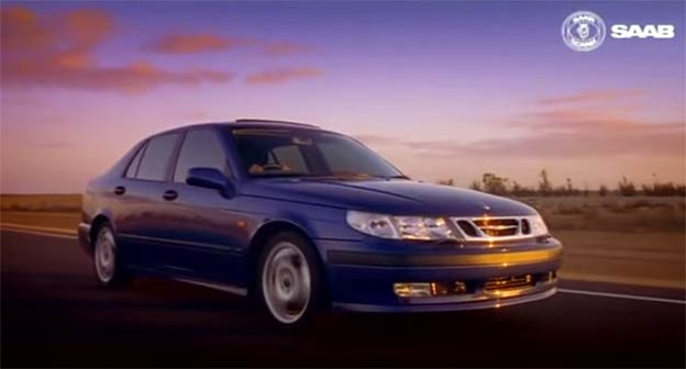Cosmic Blue Metallic Saab 9-5