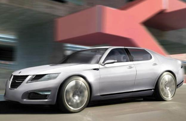 Full-size luxury sedan - Saab 9-9