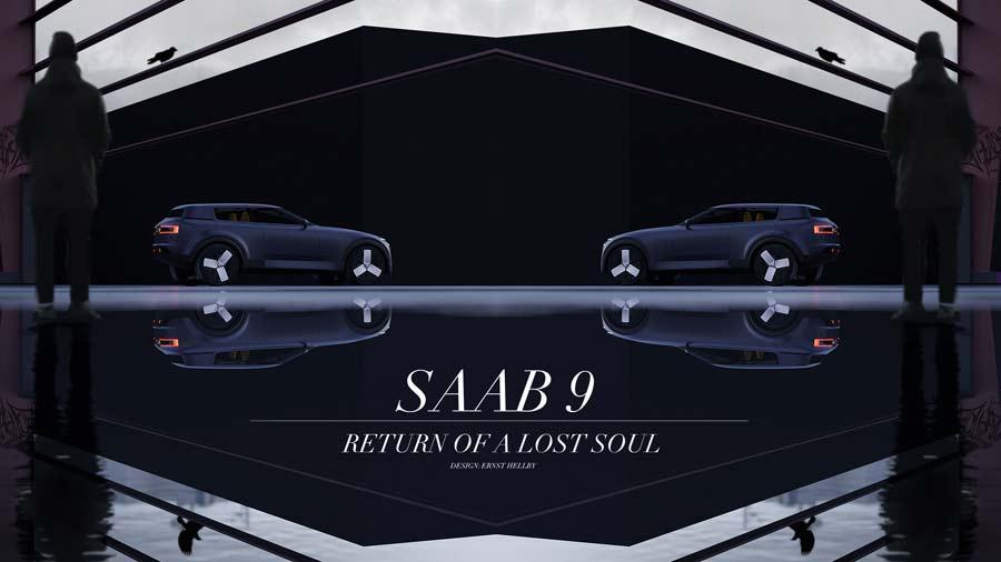 Saab 9 starting point