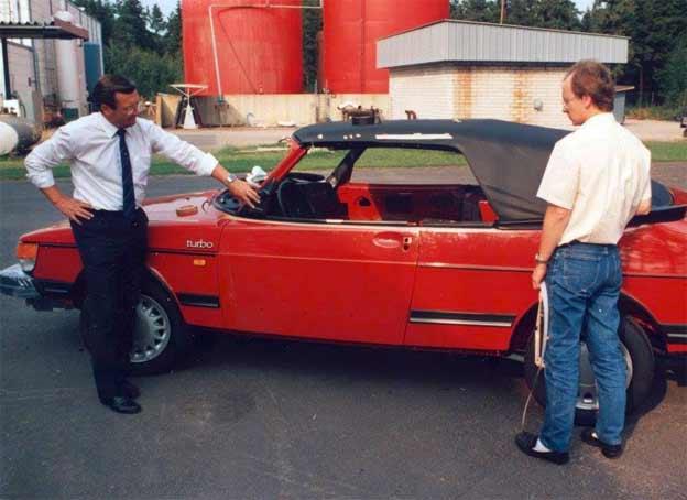 Saab 900 Nashville prototype