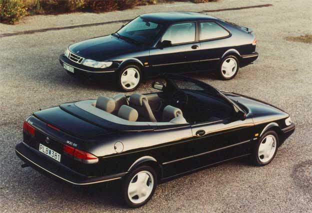 Saab 900 from Valmet Automotive