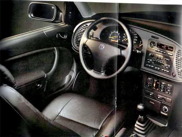 Saab 900 NG interior