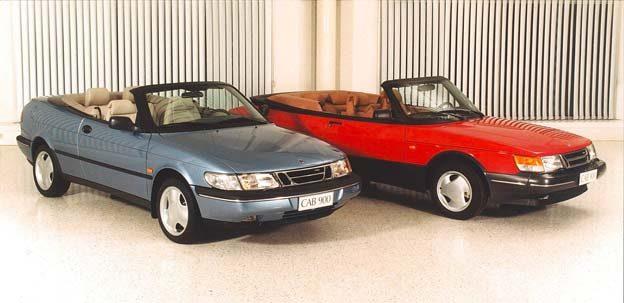 Saab 900 OG NG convertible