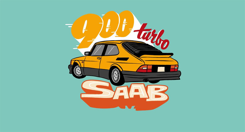 Saab 900 Turbo by Chris Piascik