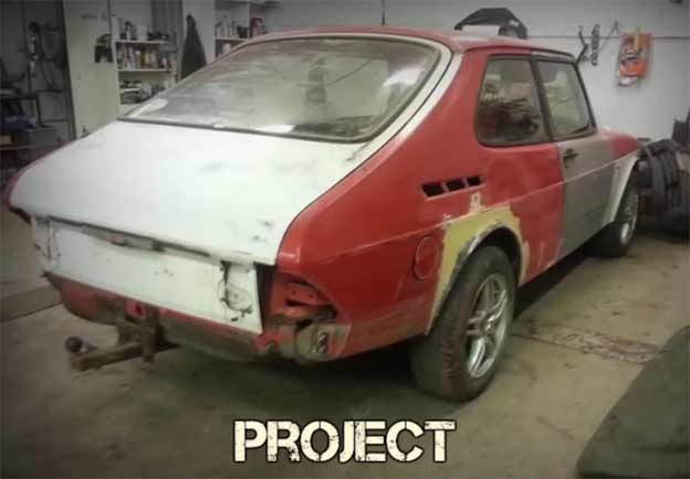 Saab 900 before