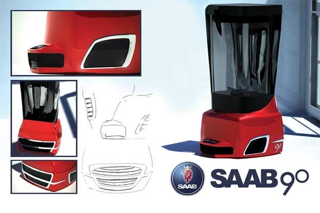 Saab 90 blender
