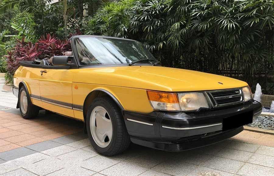 Saab 900 Convertible 2.0L