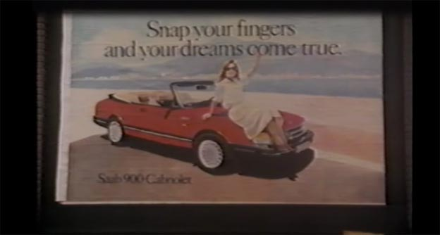 SAAB 900 Cabriolet Classic Ad from 1987