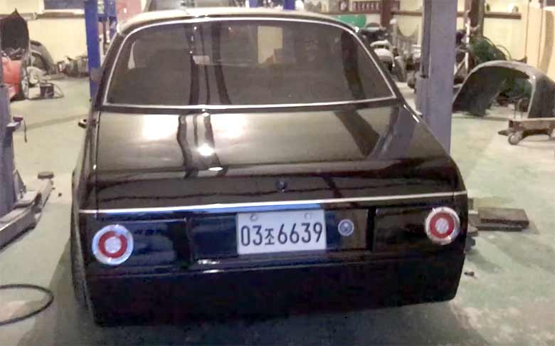 Saab 900 - Rear end (BMW-like)