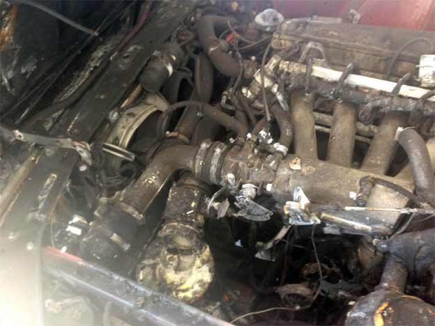 saab 900 engine fired