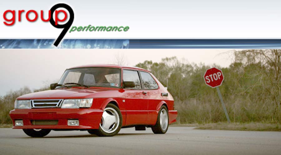 Saab 900 by Group 9 Performance
