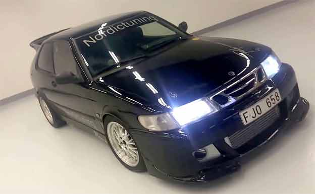 Saab 900 GTR by Nordic performance