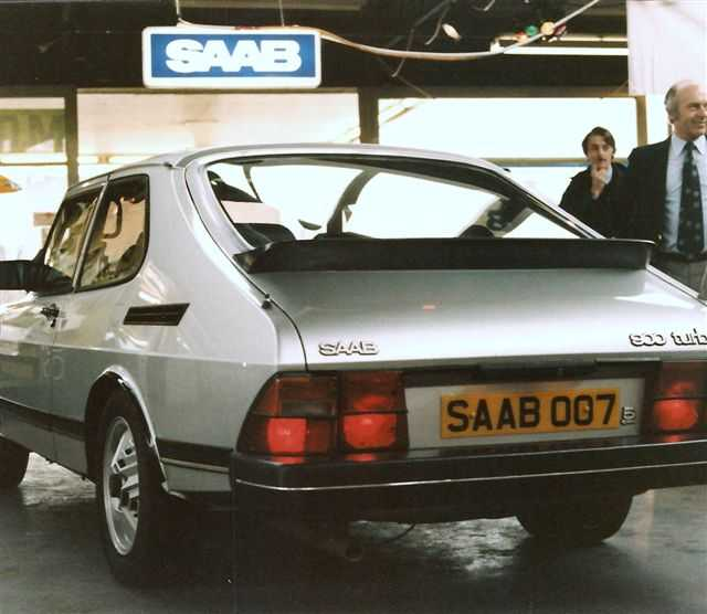 Saab 900 Turbo The Silver Beast For James Bond